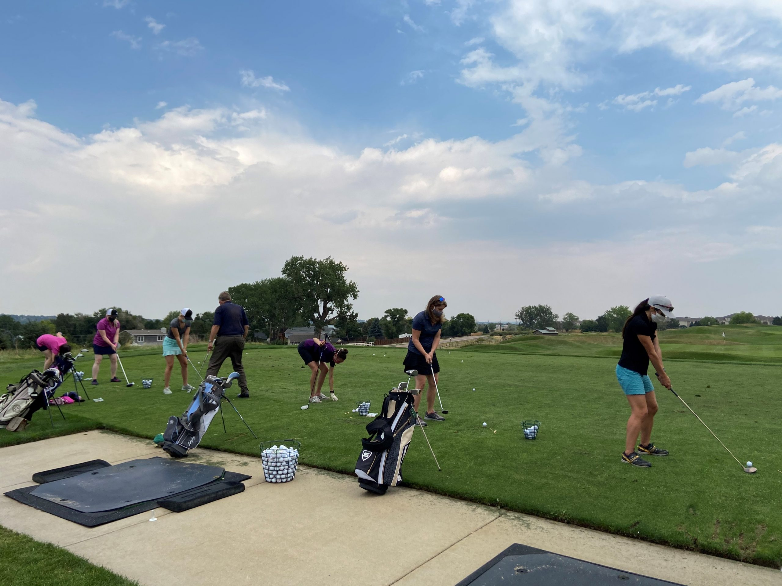 Denver - Golf Lessons, Driving Range + Happy Hour