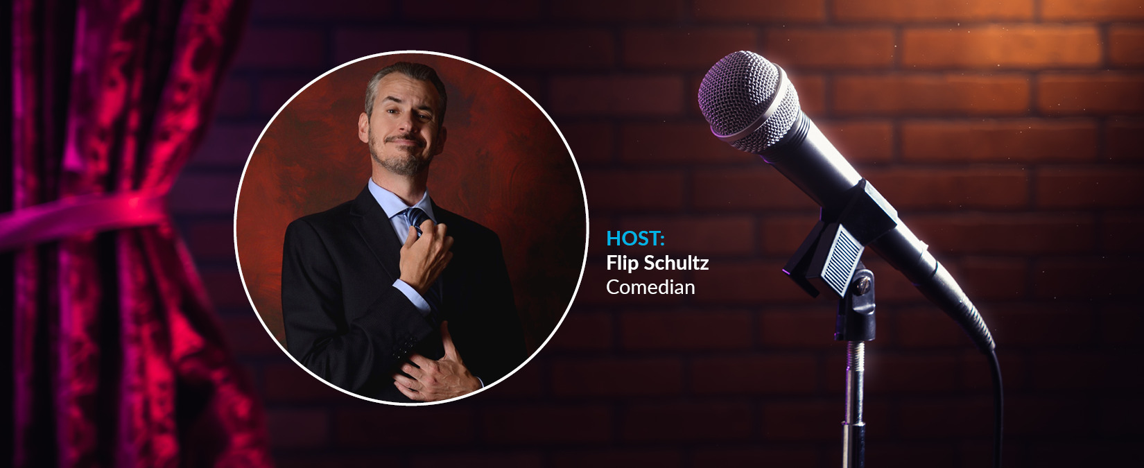 Comedy Hour with Flip Schultz