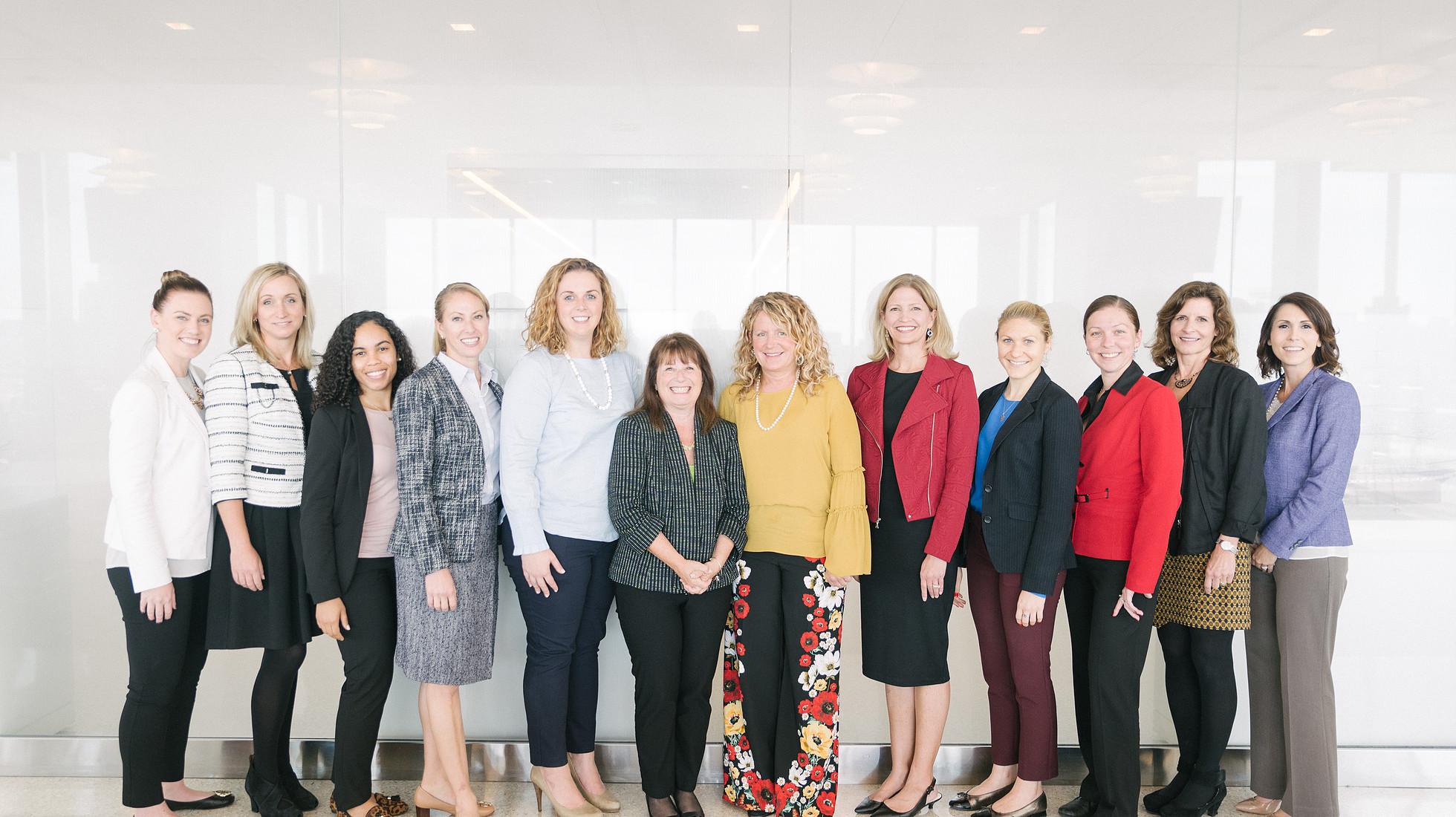 Women in healthcare national board group shot